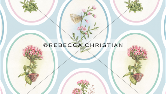 butterfly vintage wallpaper
