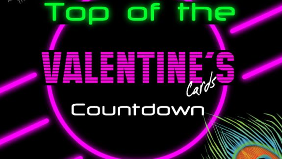 Valentines card and gift countdown